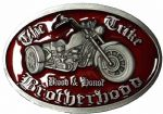 Trike Brotherhood Blood and Honor (red) Belt Buckle with display stand. Code WM7